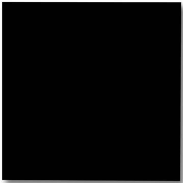 Naga magnetisch glasbord, zwart, ft 100 X 100 cm