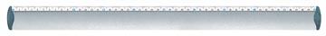 Maped lat uit geanodiseerd aluminium 50 cm