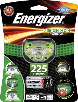 Energizer hoofdlamp Vision HD+, inclusief 3 AAA batterijen, op blister