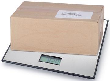 Maul pakketweegschaal MAULglobal, weegt tot 25 kg, gewichtsinterval van 20 gram