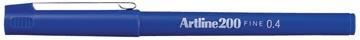 Fineliner Artline 200 blauw