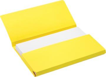 Jalema Secolor Pocketmap voor ft folio (34,8 x 23 cm), geel