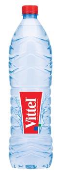 Vittel water, fles van 1,5 liter, pak van 6 stuks