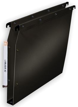 L'Oblique hangmappen voor kasten Ultimate bodem 30 mm, zwart