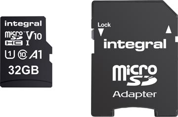 Integral microSDHC geheugenkaart, 32 GB