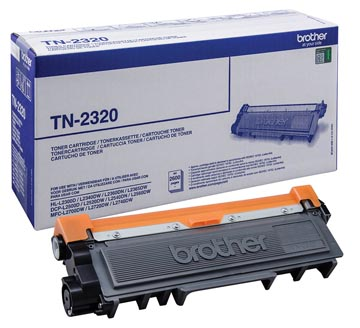 Brother toner, 2.600 pagina's, OEM TN-2320, zwart