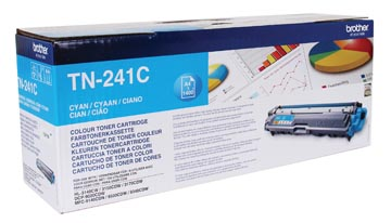 Brother toner, 1.400 pagina's, OEM TN-241C, cyaan