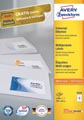 Avery Zweckform 3424, Universele etiketten, Ultragrip, wit, 100 vel, 12 per vel, 105 x 48 mm